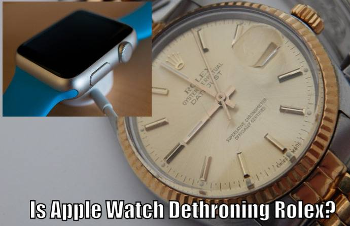 Apple Watch Dethroning Rolex